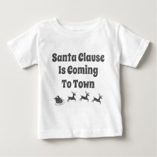 Santa Clause is Coming to Town Christmas Tee Shirts