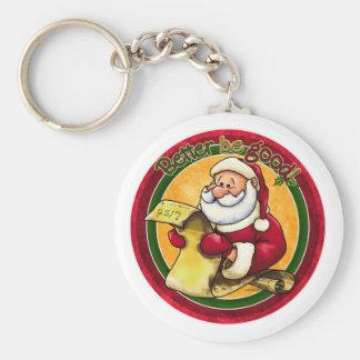 Santa Clause Keychain
