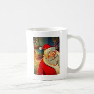 Santa Clause Merry Christmas Coffee Mug