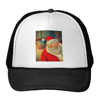 Santa Clause Merry Christmas Trucker Hat