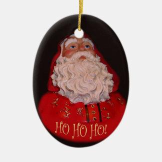 Santa Clause Oval Ornament