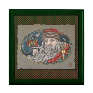Santa Clause & Pipe Jewelry Boxes