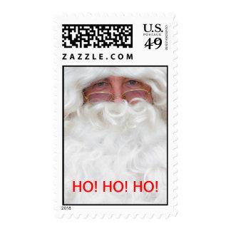Santa Clause Postage Stamp