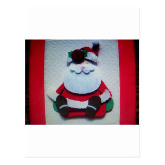 santa clause postcard