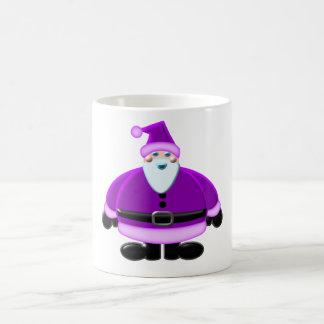 Santa Clause Purple Design Mug