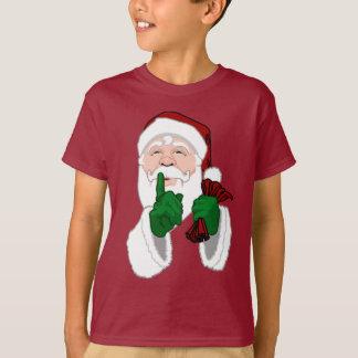 Santa Clause Shirt Classic Fun Kids Santa T-shirts