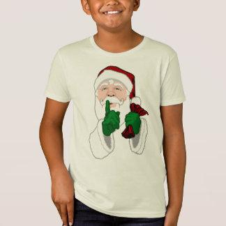 Santa Clause Shirt Organic Fun Kids Santa T-shirts