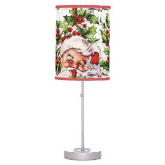 Santa Clause vintage Father Christmas Desk Lamp