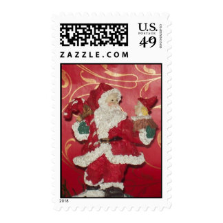Santa Clause with toys Postage Stamp Postage