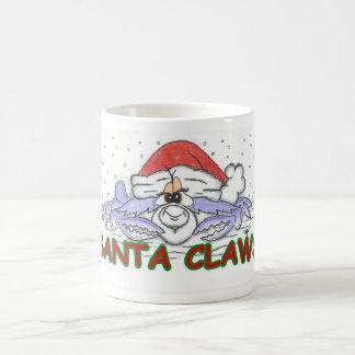 Santa CLAWS Christmas Crab Mug