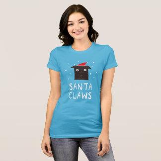 Santa Claws Funny Xmas Cat party shirt