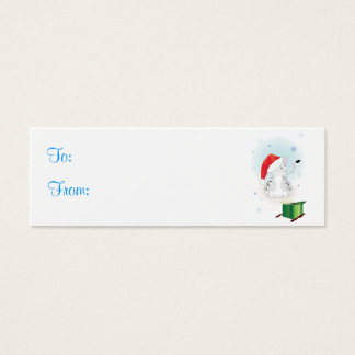 Santa Claws Gift Tags