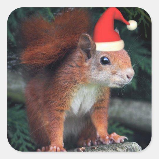 Santa Claws Sticker