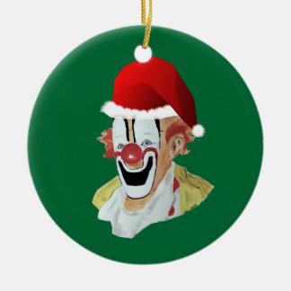 Santa Clown Ornament
