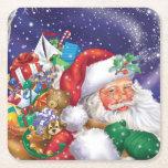 """Santa Coaster<br><div class=""""desc"""">Traditional Santa Claus.</div>"""