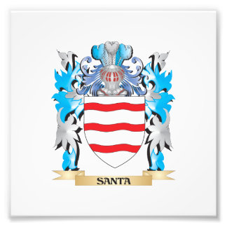 Santa Coat of Arms - Family Crest Photograph