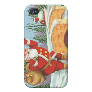 Santa comes to town case for iPhone 4