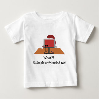 Santa Comic - Unfriended Me! Baby T-Shirt
