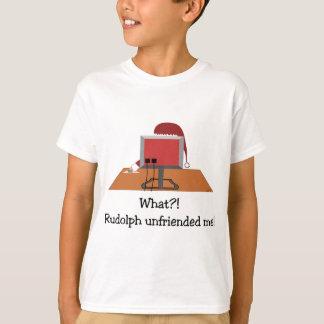 Santa Comic - Unfriended Me! T-Shirt