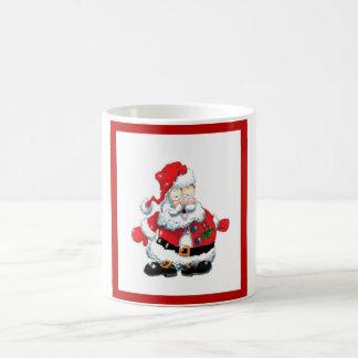 Santa comió a muchas galletas taza clásica