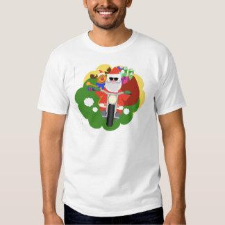 Santa con el bolso de Goodie Poleras