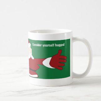 Santa Consider Yourself Hugged Mug
