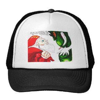 Santa contra Mega-Grunch Gorras De Camionero