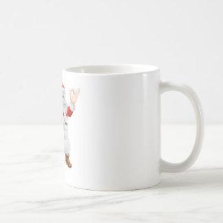 Santa Cook Christmas Dinner Concept Coffee Mugs