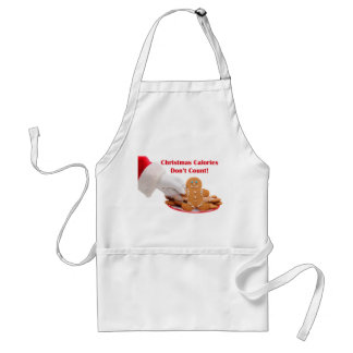 Santa Cookie Apron