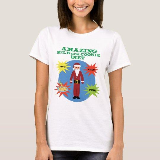 Santa Cookie Diet T-Shirt