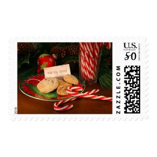 Santa cookies postage