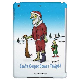 Santa Corpse Funny Zombie Cartoon iPad Air Cases