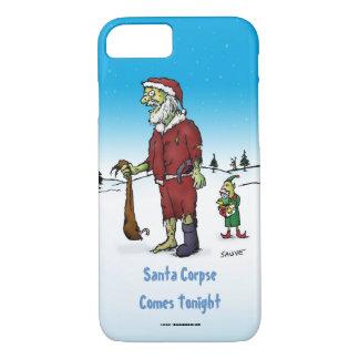 Santa Corpse Funny Zombie Cartoon iPhone 8/7 Case