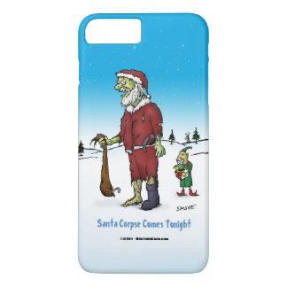 Santa Corpse Funny Zombie Cartoon iPhone 8 Plus/7 Plus Case