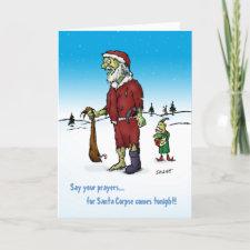 Santa Corpse Holiday Card