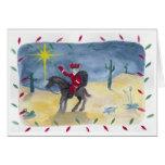 Santa Cowboy Cards