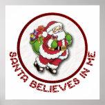 Santa cree en mí el poster