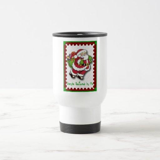 Santa cree en mí la taza