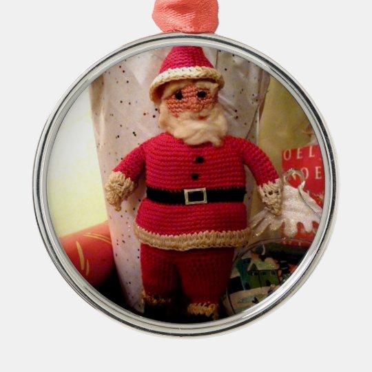 Santa Crochet - Ornament