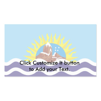 Santa Cruz, Argentina Double-Sided Standard Business Cards (Pack Of 100)