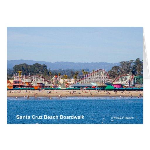 Santa Cruz Beach Boardwalk California Products Greeting Card