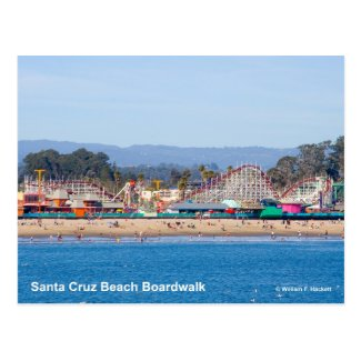 Santa Cruz Beach Boardwalk California Products Postcard