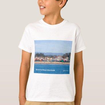 Beach Themed Santa Cruz Beach Boardwalk California Products T-Shirt