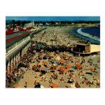 Santa Cruz Beach, California Vintage Post Cards