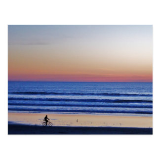Santa Cruz Beach Crusier Sunset. Postcard