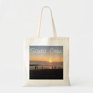 Santa Cruz Beach Tote Budget Tote Bag