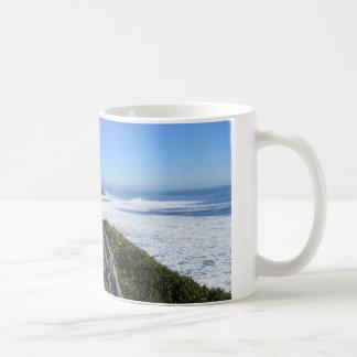 Santa Cruz, CA. Coastline Coffee Mug