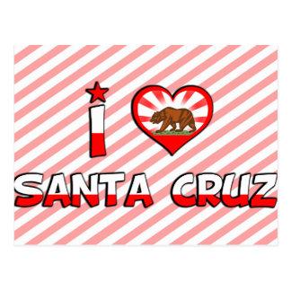 Santa Cruz, CA Postcard