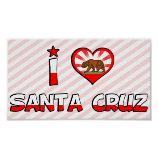 Santa Cruz, CA Póster