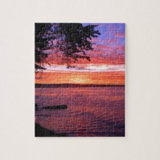 Santa Cruz, CA. Sunrise Jigsaw Puzzle